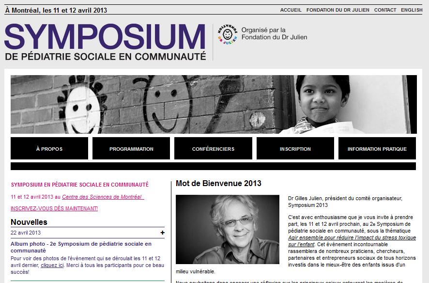 Dr Julien - symposium