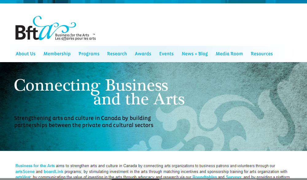 Business for the Arts