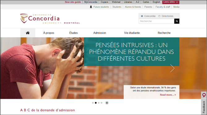 Client : Université Concordia