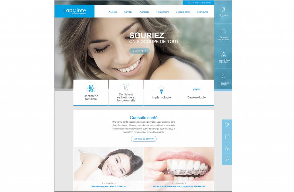 centres dentaires lapointe